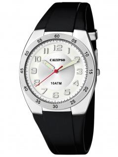 Calypso K5753/4 Uhr Herrenuhr Kunststoff schwarz