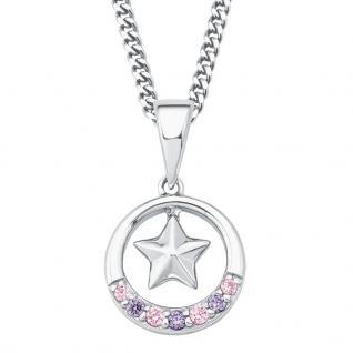 Prinzessin Lillifee 2017948 Mädchen Collier Stern Silber Rosa