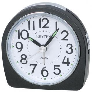 RHYTHM CRE864NR02 Wecker Uhr Alarm Weiss