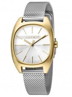 Esprit ES1L038M0115 Infinity Silver Gold Mesh - L Damenuhr Edelstahl