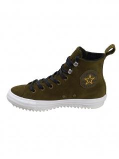 Converse Damen Schuhe CT All Star Hiker Hi Oliv Leder Sneakers 41 EU - Vorschau 2
