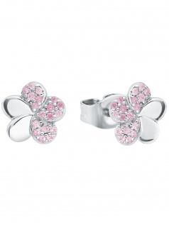 Prinzessin Lillifee 2027899 Mädchen Ohrstecker Blume Silber rosa