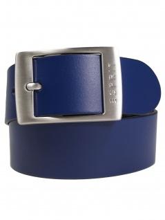 Esprit Damen Gürtel Jeansgürtel Xoctavia Leder 85cm Blau