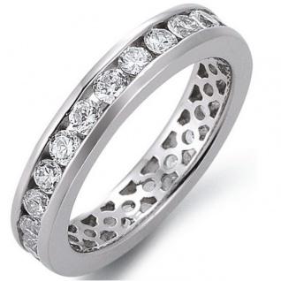 GOOIX Classic 943-3140-099-600 Ring Silber Weiß 60 (19.1)