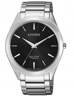 Citizen BJ6520-82E Eco-Drive Uhr Herrenuhr Titan Silber