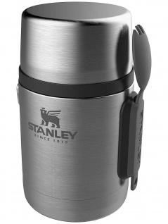 Stanley Essensbehälter Adventure Food Jar 0.5l, Edelstahl mit Besteck