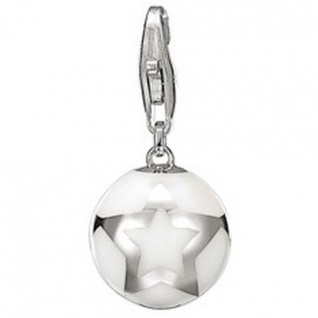 Esprit Charm ESZZ90776D Charms Silber star ball white
