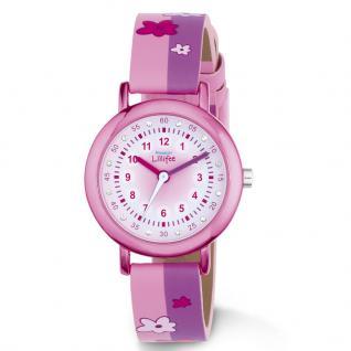 Prinzessin Lillifee 2013198 Uhr Mädchen Kinderuhr Kunststoff Rosa