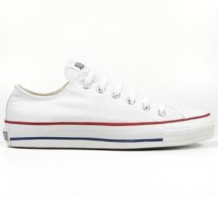 Converse Herren Schuhe All Star Ox Weiß M7652C Sneakers Chucks 44, 5
