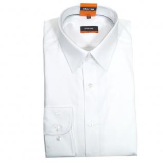 Eterna Herrenhemd Langarm 4678/00/F198 Slim Fit Weiß Gr. XL/43