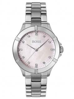 Hugo Boss 1502469 Uhr Damenuhr Edelstahl Silber