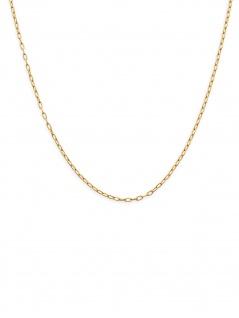 XENOX CHOICE XC1056G/60 Damen Kette Sterling-Silber 925 Gold 60 cm