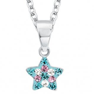 Prinzessin Lillifee 2013183 Mädchen Collier Stern Silber Blau 38 cm