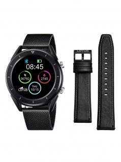 Lotus 50007/1 Smartime Smart Watches Uhr Herrenuhr Datum Schwarz