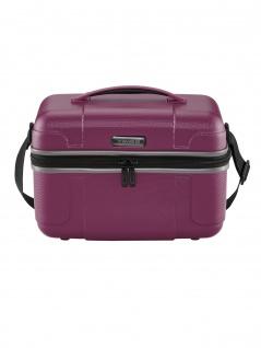 Travelite Damen Hartschale Kosmetikkoffer VECTOR Beautycase Violett