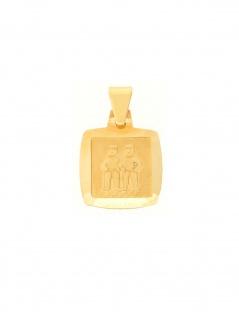Gerry Eder 24.9022ZW Anhänger Zwilling 14 Karat (585) Gelbgold Gold