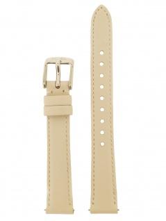 Fossil Uhrenarmband LB-ES3793 Original Ersatzband Leder 14 mm Beige