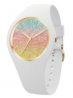 Ice-Watch 015604 Ice-Lo Malibu Uhr Damenuhr Kautschuk Weiß
