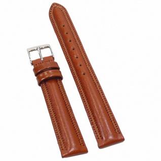 Condor Uhrenband 19190-14-30 Ersatzarmband 14 mm Sattelleder braun