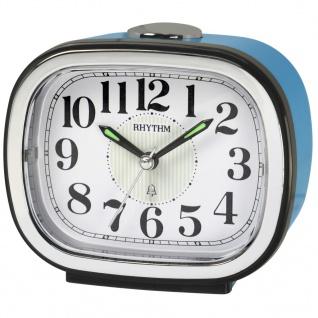 RHYTHM CRA849NR04 Glockenwecker Uhr Alarm Weiss