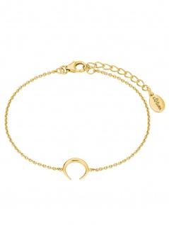 s.Oliver 2024315 Damen Armband Sterling-Silber 925 Gold 19 cm