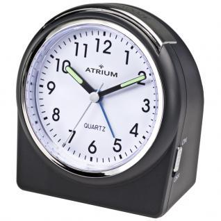 ATRIUM A520-7 Wecker Alarm Analog schwarz