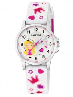 Calypso K5776/1 Uhr Mädchen Kinderuhr Kunststoff mehrfarbig