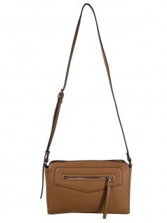 Esprit Damen Handtasche Tasche Kerry med shoulderbag Braun