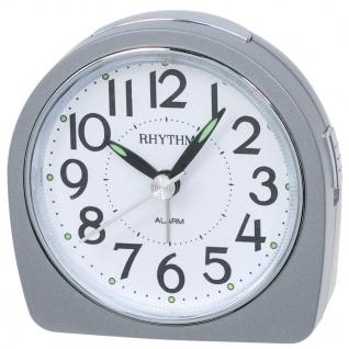 RHYTHM CRE864NR19 Wecker Uhr Alarm Weiss