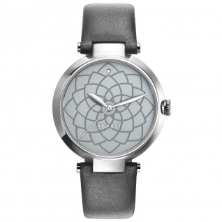 Esprit ES109032004 esprit-tp10903 grey Uhr Damenuhr Lederarmband grau