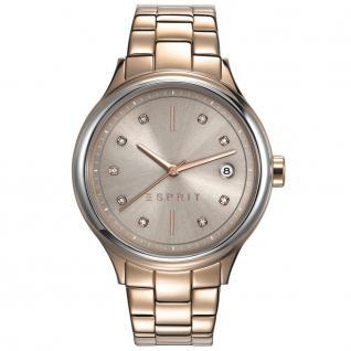 Esprit ES108552003 esprit-tp10855 rosé gold Uhr Damenuhr Datum rosé