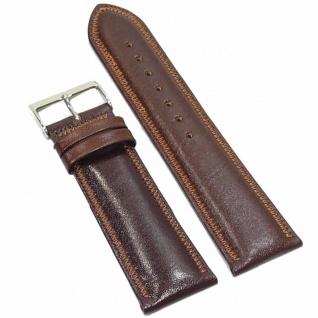 Condor Uhrenband 19190-24-20 Ersatzarmband 24 mm Sattelleder braun