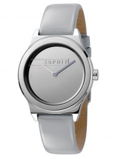Esprit ES1L019L0025 Magnolia Silver L Grey Patent Damenuhr Leder