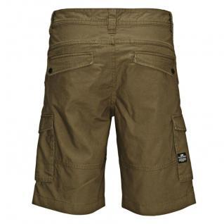Jack & Jones Herren Hose WEST Cargo Shorts NOOS Grün Gr. M - Vorschau 3