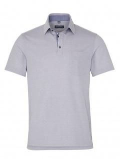Eterna Herren Polo Shirt Kurzarm Comfort Fit Piqué Grau XXXXL/52