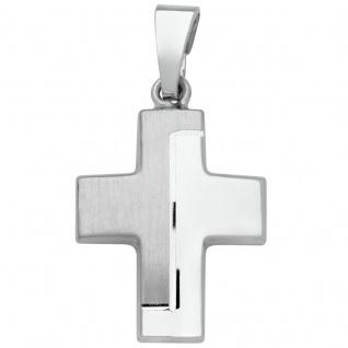 Basic Silber SKE19 Kinderschmuck Anhänger Kinder Kreuz Silber