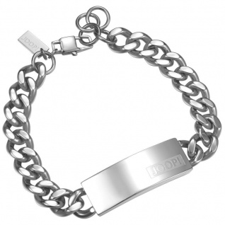 Joop JPBR10616A215 Herren Gravur-Armband Logo Signature Stahl 23, 5 cm