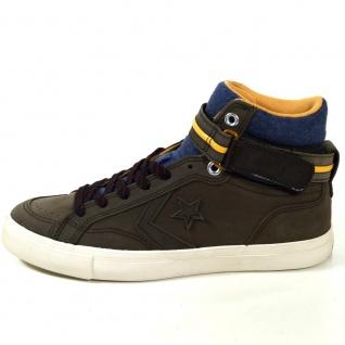 Converse Herren Schuhe Pro Blaze Plus Hi Braun 153735C Sneakers 42, 5