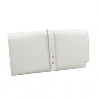 Esprit Geldbörse Tracy Flap Clutch Weiß Damen Börse 067EA1V001-E100