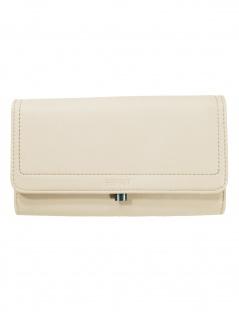 Esprit Damen Geldbörse Portemonnaies Ally Flat Clutch Beige 010EA1V303