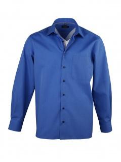 Eterna Herren Hemd Langarm Comfort Fit 3072/16/E18E Blau XXL/45 - Vorschau 2