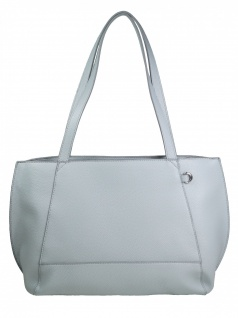 Esprit Damen Handtasche Tasche Henkeltasche Fran Shopper Blau