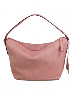 Esprit Damen Handtasche Tasche Henkeltasche Davina Hobo Rosa
