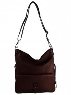 Esprit Damen Handtasche Tasche Isa flapover shoulderbag Braun