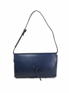 Esprit Damen Handtasche Tasche Abendtasche Clutch Camino Baguette Blau