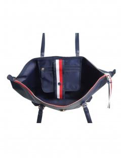 Tommy Hilfiger Damen Handtasche Tasche Shopper POPPY Tote Blau - Vorschau 2
