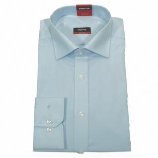 Eterna Herrenhemd 1100/10/X177 Modern Fit Hellblau Gr. L/41