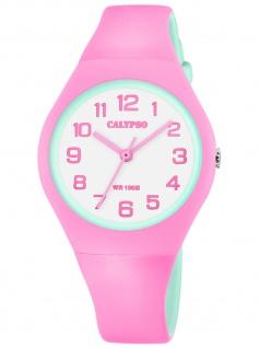 Calypso K5777/6 Uhr Mädchen Kinderuhr Kautschuk rosa