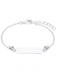 Prinzessin Lillifee 2027217 Mädchen Armband Stern 925 Silber rosa 14cm