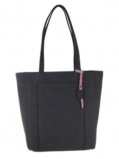 Esprit Damen Handtasche Tasche Henkeltasche Lauren shopper Grau